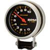 "Autometer Pro Comp Pedestal Mount Tachs Tachometer Standard Electric Gauge 3 3/4"" (95.3mm)"