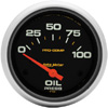 "Autometer Pro Comp Short Sweep Electric Oil Pressure Gauge 2 5/8""(66.7mm)"