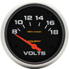 "Autometer Pro Comp Short Sweep Electric Voltmeter Gauge 2 5/8""(66.7mm)"