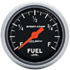 "Autometer Sport Comp Full Sweep Electric Fuel Level Programmable Empty - Full Range Gauge 2 1/16"" (52.4mm)"