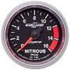 "Autometer Sport Comp II Full Sweep Electric Nitrous Pressure 2 1/16"" (52.4mm)"