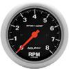 "Autometer Sport Comp In-Dash Tachs & Speedos Tachometer Gauge 3 3/8"" (85.7mm)"