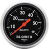 "Autometer Sport Comp Mechanical Blower Pressure Gauge 2 5/8"" (66.7mm)"