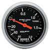 "Autometer Sport Comp Mechanical Boost / Vacuum Metric Gauge 2 5/8"" (66.7mm)"