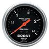 "Autometer Sport Comp Mechanical Boost Metric Gauge 2 5/8"" (66.7mm)"