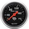 "Autometer Sport Comp Mechanical Oil Pressure Gauge 2 1/16"" (52.4mm)"