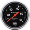 "Autometer Sport Comp Mechanical Oil Pressure Gauge 2 5/8"" (66.7mm)"