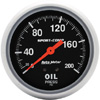"Autometer Sport Comp Mechanical Oil Pressure Gauge 2 5/8"" (66.7mm)"