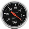 "Autometer Sport Comp Mechanical Vacuum Gauge 2 5/8"" (66.7mm)"