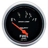 "Autometer Sport Comp Short Sweep Electric Fuel Level Gauge 2 5/8"" (66.7mm)"