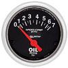 "Autometer Sport Comp Short Sweep Electric Oil Pressure Gauge 2 1/16"" (52.4mm)"