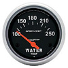 Autometer Sport Comp Short Sweep Electric Water Temperature Gauge 2 5/8