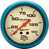 "Autometer Ultra Nite Mechanical Oil Pressure gauge 2 5/8"" (66.7mm)"