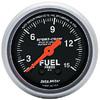 "Autometer Sport Comp Mechanical Fuel Pressure Gauge 2 1/16"" (52.4mm)"