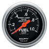 Autometer Sport Comp Mechanical Fuel Pressure Metric Gauge 2 1/16