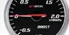 Apexi EL II System Meters: Mechanical Vacuum BLACK