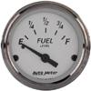 "Autometer American Platinum Short Sweep Electric Fuel Level Gauges 2 1/16"" (52.4mm)"