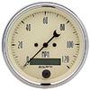 """Autometer Antique Beige In-Dash Tachs & Speedos Speedometer Elec. Programmable Gauges 3 3/8"""" (85.7mm)"""