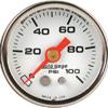 "Autometer Autogage Mechanical Fuel Pressure Gauge 1 1/2"" (38.1mm)"