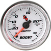 "Autometer C2 Full Sweep Electric Boost / Vacuum gauge 2 1/16"" (52.4mm)"