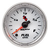 """Autometer C2 Full Sweep Electric Fuel Level gauge 2 1/16"""" (52.4mm)"""