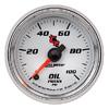 "Autometer C2 Full Sweep Electric Oil Pressure gauge 2 1/16"" (52.4mm)"