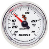 "Autometer C2 Mechanical Boost / Vacuum gauge 2 1/16"" (52.4mm)"