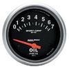 """Autometer Metric Short Sweep Electric Oil Pressure gauge 2 5/8"""" (66.7mm)"""