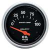 "Autometer Sport Comp Short Sweep Electric Oil Pressure Gauge 2 5/8"" (66.7mm)"