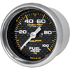 "Autometer Carbon Fiber Full Sweep Electric Fuel Pressure gauge 2 1/16"" (52.4mm)"