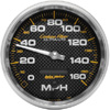 "Autometer Carbon Fiber In-Dash Tachs & Speedos Speedometer gauge 5"" (127mm)"