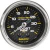 "Autometer Carbon Fiber Mechanical Boost gauge 2 1/16"" (52.4mm)"