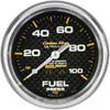 "Autometer Carbon Fiber Mechanical Fuel Pressure gauge 2 5/8"" (66.7mm)"