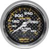 Autometer Carbon Fiber Mechanical Water Temperature gauge 2 1/16