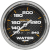 Autometer Carbon Fiber Mechanical Water Temperature gauge 2 5/8