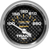 "Autometer Carbon Fiber Short Sweep Electric Trans Temperature gauge 2 1/16"" (52.4mm)"