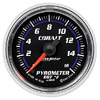 "Autometer Cobalt Full Sweep Electric Pyrometer gauge 2 1/16"" (52.4mm)"