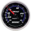 "Autometer Cobalt Mechanical Boost / Vacuum gauge 2 1/16"" (52.4mm)"