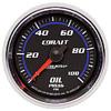 "Autometer Cobalt Mechanical Oil Pressure gauge 2 1/16"" (52.4mm)"