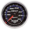 "Autometer Cobalt Mechanical Water Temperature gauge 2 1/16"" (52.4mm)"