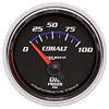 "Autometer Cobalt Short Sweep Electric Oil Pressure gauge 2 1/16"" (52.4mm)"