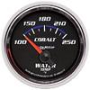"Autometer Cobalt Short Sweep Electric Water Temperature gauge 2 1/16"" (52.4mm)"