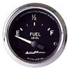 "Autometer Cobra Short Sweep Electric Fuel Level gauge 2 1/16"" (52.4mm)"