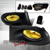 Spec-D Tuning JDM Style Fog Lights Kit Amber - RSX 02-05