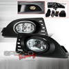 Spec-D Tuning OEM Style Fog Lights Kit Clear - RSX 05-07