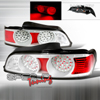 Spec-D Tuning LED Altezza Tail Lights Smoked - RSX 05-06