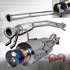 Spec-D Tuning Burnt Tip Catback Exhaust - RSX 02-06 Base Model
