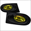 Spec-D Tuning Yellow JDM Style Fog Lights Kit - Acura RSX 02-04