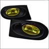 Spec-D Tuning Yellow JDM Style Fog Lights Kit - Acura RSX 02-04