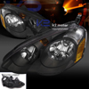 Spec-D Tuning Acura RSX Headlights - Black  - RSX 02-04